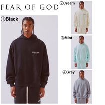 FEAR OF GOD Pullovers Street Style Long Sleeves Hoodies