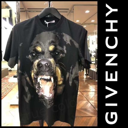 GIVENCHY Crew Neck Crew Neck Pullovers Street Style Other Animal Patterns