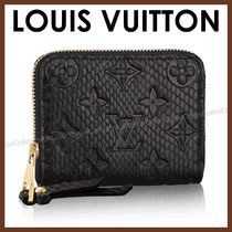 Louis Vuitton ZIPPY COIN PURSE Monogram Python Folding Wallets
