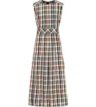 Burberry Other Check Patterns A-line Sleeveless Long Dresses
