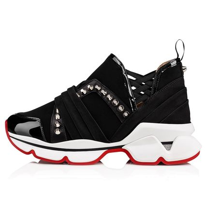 Christian Louboutin Low-Top Studded Low-Top Sneakers 2