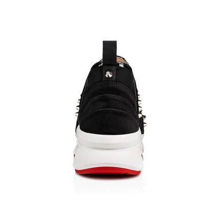 Christian Louboutin Low-Top Studded Low-Top Sneakers 3