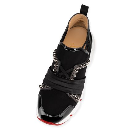 Christian Louboutin Low-Top Studded Low-Top Sneakers 4