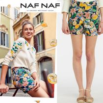 NAF NAF Cotton Denim & Cotton Shorts