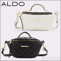 ALDO [ALDO] Top-handle Quilted Waist Belt Bag - Simple