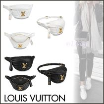 Louis Vuitton BUMBAG Blended Fabrics Bag in Bag Plain Leather Elegant Style