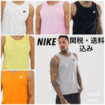 Nike Street Style Plain Cotton Tanks