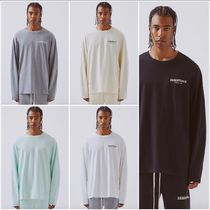 FEAR OF GOD ESSENTIALS Street Style Long Sleeves Cotton Long Sleeve T-Shirts