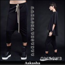 Aakasha Casual Style Plain Medium Sarouel Pants