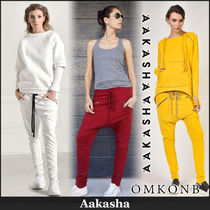 Aakasha Plain Long Sarouel Pants