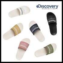 Discovery EXPEDITION Unisex Street Style Logo Slip-On Shoes