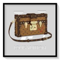 Louis Vuitton Casual Style Blended Fabrics 2WAY Leather Handbags