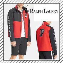 POLO RALPH LAUREN Pullovers Street Style Long Sleeves Cotton Tops