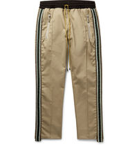 RHUDE Tapered Pants Unisex Street Style Cotton Tapered Pants