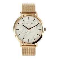 Christian Paul Unisex Round Quartz Watches Analog Watches
