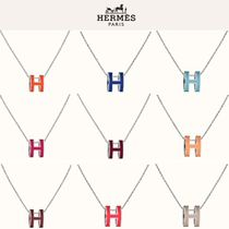 HERMES Collaboration With Jewels Elegant Style Necklaces & Pendants
