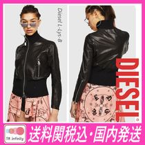 DIESEL Leather Biker Jackets