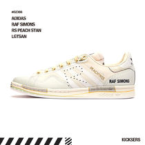 RAF SIMONS Logo Unisex Collaboration Street Style Low-Top Sneakers