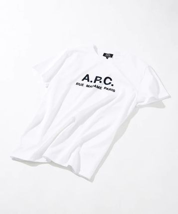 A.P.C. Crew Neck Crew Neck Plain Short Sleeves Crew Neck T-Shirts 4