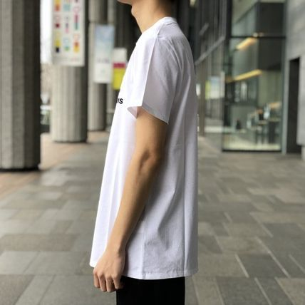 A.P.C. Crew Neck Crew Neck Plain Short Sleeves Logo T-Shirt Logo 9