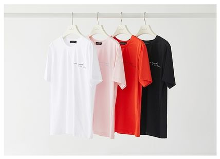 Collaboration Cotton Short Sleeves T-Shirts