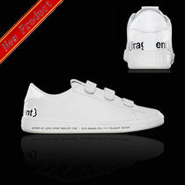 MONCLER MONCLER GENIUS Street Style Leather Sneakers