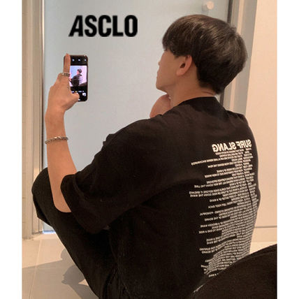 ASCLO More T-Shirts Street Style Oversized T-Shirts 2