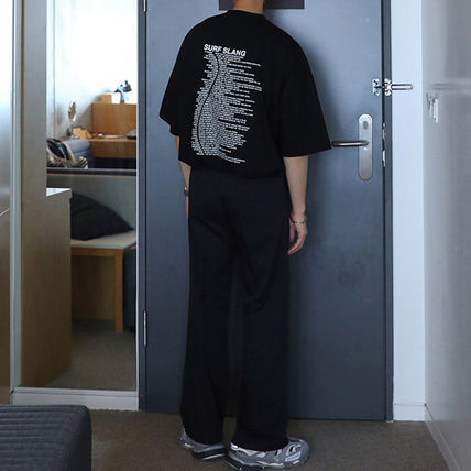 ASCLO More T-Shirts Street Style Oversized T-Shirts 5