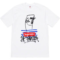 Supreme Unisex Street Style Collaboration T-Shirts