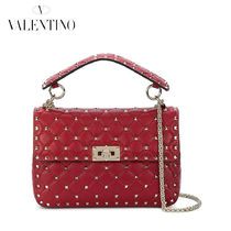 VALENTINO Casual Style Lambskin Studded 2WAY Handbags