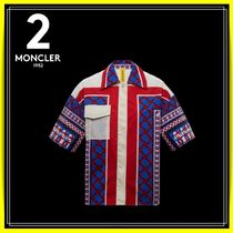 MONCLER Cotton Short Sleeves Shirts & Blouses