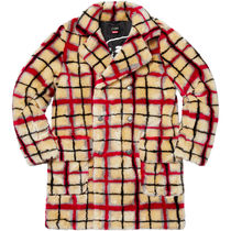 Supreme Unisex Street Style Collaboration Coats