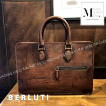 Berluti 2WAY Plain Leather Business & Briefcases