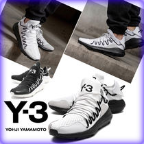 Y-3 Street Style Leather Sneakers