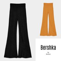 Bershka Casual Style Plain Long Pants