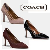 Coach Leather High Heel Pumps & Mules