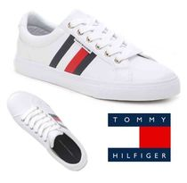 Tommy Hilfiger Round Toe Rubber Sole Casual Style Street Style