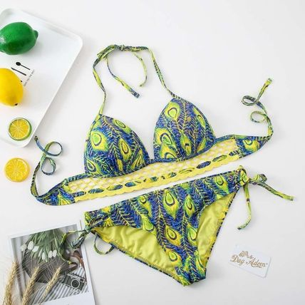 Tropical Patterns Bikinis