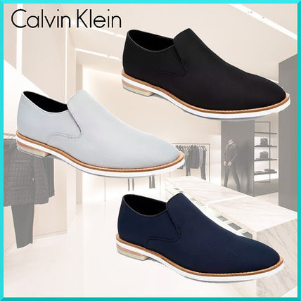 Plain Toe Plain Loafers & Slip-ons