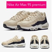 Nike AIR MAX 95 Casual Style Plain Low-Top Sneakers