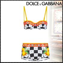 Dolce & Gabbana Other Check Patterns Tropical Patterns Blended Fabrics