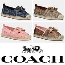 Coach Flower Patterns Casual Style Flats