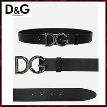 Dolce & Gabbana Leather Belts