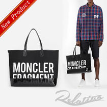 MONCLER Street Style A4 2WAY Totes