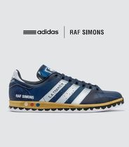 RAF SIMONS Street Style Collaboration Leather Sneakers