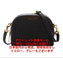 MARC JACOBS Snapshot Street Style 2WAY Plain Leather Elegant Style Shoulder Bags