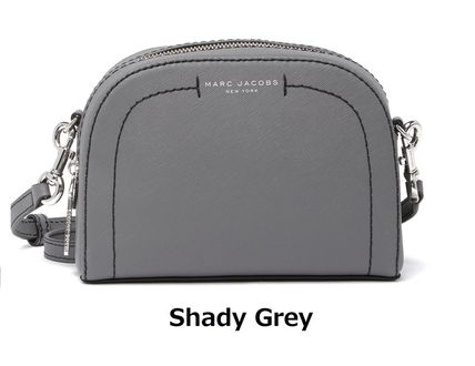 Street Style 2WAY Plain Leather Elegant Style Crossbody Logo