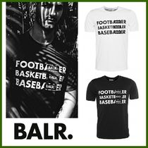 BALR Street Style Cotton Short Sleeves T-Shirts