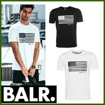 BALR Plain Cotton Short Sleeves T-Shirts