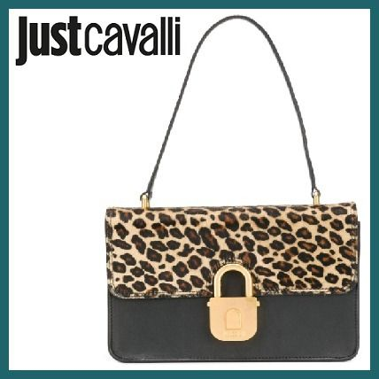 Leopard Patterns Leather Shoulder Bags